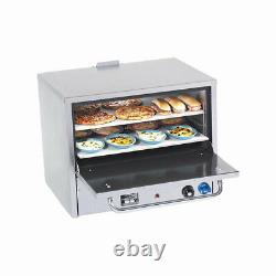 Comstock Castle PO26 Pizza Oven Counter Top Gas with Two 26.5 Hearth Decks