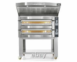 Cuppone Michelangelo Double Deck Electric Pizza Oven