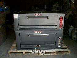 Double Vulcan Natural Deck Gas Double Pizza Oven New Stones