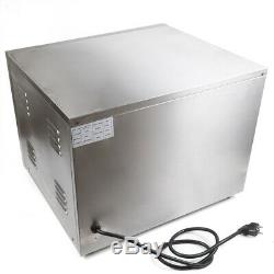 Electric 3000W Pizza Oven Double Deck Commercial Stainless Steel Pizza Toaster