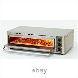 Equipex PZ-430D Countertop Pizza Oven Single Deck, 208-240v/1ph