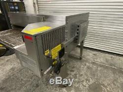Gas Conveyor Pizza Oven Edge 40 Bake Impingement Single Deck 32 Belt #3623 HOT