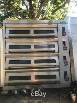 Hobart 4 Deck Pizza Oven