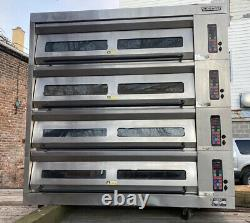 Hobart 4 Deck Pizza oven 4HBDO 4 Tier Electric