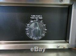 Hobart HDO17 Electric Countertop Pizza / Pretzel Deck Oven, Twin Deck 220V 1PH