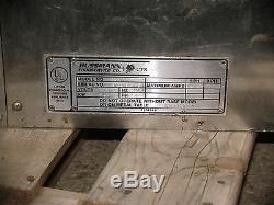 Hussmann G24W Conveyor Belt Deck Pizza Sub Oven 1 Phase