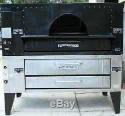 IL Forno Classico Bakers Pride FC616 Gas with Y600 Deck Pizza Oven Double STACK