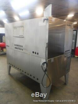 IL Forno Classico Bakers Pride FC616 Gas with Y600 Deck Pizza Oven on Legs