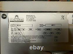 Italforni TKD2 Twin Deck Electric Pizza Oven (USED)