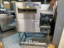 Lincoln Impinger 1131 Double Deck Electric Conveyor Pizza Ovens