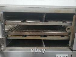 Lincoln Impinger 1600 Triple Deck Conveyor Pizza Oven Belt Width 32