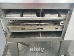 Lincoln Impinger 1601/1600 Double Deck Conveyor Pizza Oven Belt Width 32