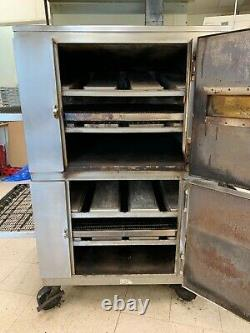 Lincoln Impinger gas Double Deck Conveyor Pizza Oven 1000/1400