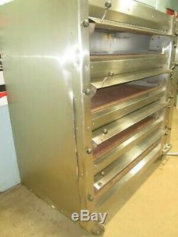 Lucks Co Hd Commercial (nsf) 208v 3ph Electric 4 Steel Decks Pizza/bakery Oven