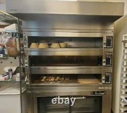 MIWE 3.14 Electric Deck Oven with Proofer Combo Condo Pizza Bread Oven