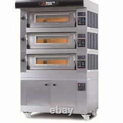 MORETTI FORNI AMALFI B3 Electric Pizza Oven 38'' x 29'' x 7''208/3ph-3 Decks