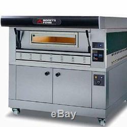 MORETTI FORNI P110G A1 Gas Pizza Oven P110G 44'' x 29'' x 7'' 1 Deck