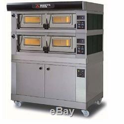 MORETTI FORNI P120 B2 Electric Pizza Oven 49'' x 34'' x 7'' 208/60/3-2 Decks e