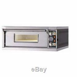 MORETTI FORNI PM 60.60 iDeck Pizza Oven 61x66x14 cm chamber. 1 Deck. 220V