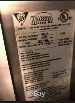 Marsal Double Deck 4 Pie Pizza Oven