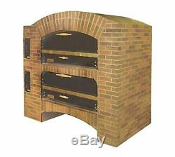 Marsal MB-60 STACKED Gas Deck-Type Pizza Bake Oven