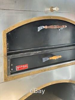 Marsal MB60 Natural Gas Pizza Deck Oven Brick Lined Restaurant Equipment Bakery