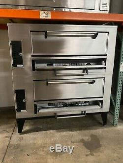 Marsal SD-1048 STACKED Gas Deck Type Pizza Oven