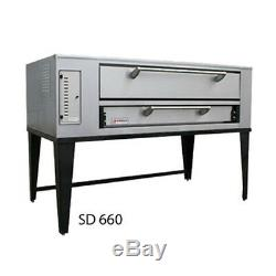 Marsal SD-10866 Gas Deck Type Pizza Oven