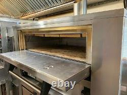 Marsal SD-236 STACKED Gas Deck Pizza Oven FREE SHIPPING & Brick-Lined Option