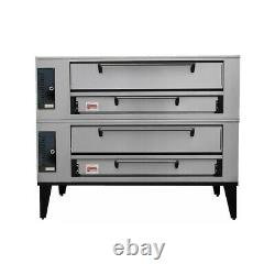 Marsal SD-236 STACKED Gas Deck-Type Pizza Bake Oven