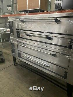 Marsal SD-660 Gas Deck Type Pizza Oven, Natural Gas