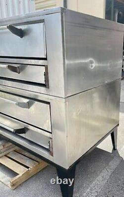 Marsal SD-660 STACKED Gas Deck-Type Pizza Bake Oven