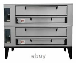 Marsal SD-866 STACKED Gas Deck-Type Pizza Bake Oven