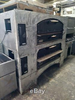 Mb60 Marsal Double Deck Gas Pizza Oven Includes Free Shipping