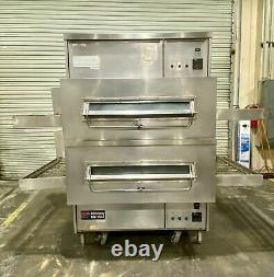 Middleby Marshall PS360 Double Deck Gas Conveyor Pizza Oven