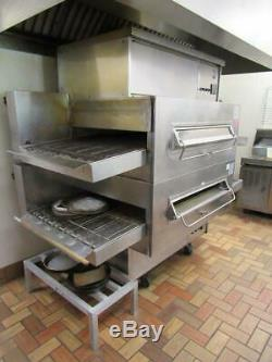 Middleby Marshall PS360Q Double Deck Conveyor Pizza Oven