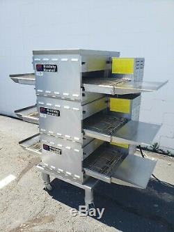Middleby Marshall PS520E Triple Deck Electric Conveyor Pizza Oven Belt Width 20