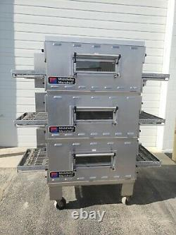 Middleby Marshall PS536G Triple Deck Conveyor Pizza Oven Belt Width 20