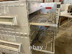 Middleby Marshall PS540G Double Deck Conveyor Pizza Oven Belt Width 32