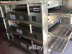 Middleby Marshall PS570G Triple Deck Conveyor Pizza Oven Belt Width 32 Gas