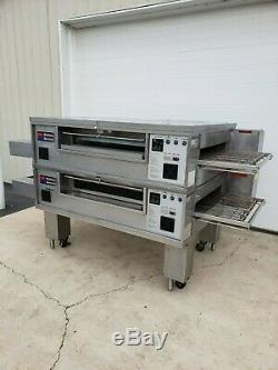 Middleby Marshall PS570S Double Deck Conveyor Pizza Oven Belt Width 32