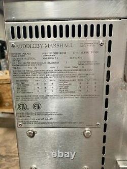 Middleby Marshall PS870G WOW! Double Deck Conveyor Pizza Oven Belt Width 32