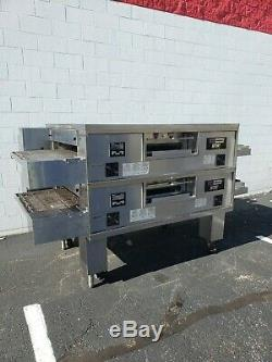 Middleby Marshall WOW PS870G Double Deck Conveyor Pizza Oven Belt Width 32