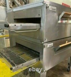 Model 3255 Lincoln Impinger Conveyor Pizza Oven 2 Decks, 3 Conveyor Belts