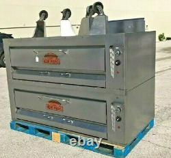Montague 25P-2 Double Deck Gas Pizza Ovens