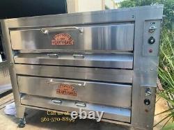 Montague Gas Double Deck Pizza Ovens 25P-2