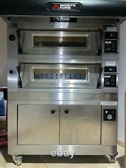 Moretti Forni Double Deck Pizza Oven