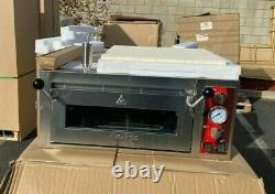 NEW 18 Single Deck Countertop Pizza Oven Independent Chambers 240V NSF
