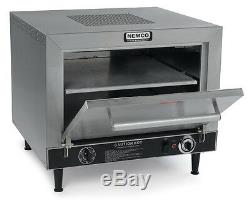 Nemco 6205-240 Pizza Oven Electric Counter Top Double 19 Stone Deck 240v