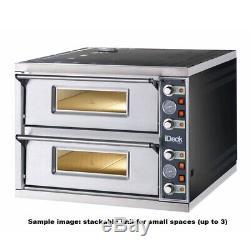 New Electric 1 Deck Pizza Oven, 24 x 26, Moretti Forni, PM 60.60